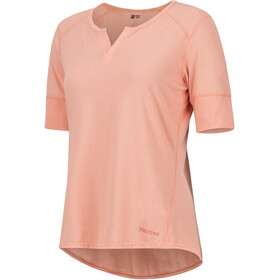 Marmot Cynthia Chemise manches courtes Femme, coral pink